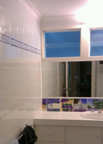 French Lavender Bathroom